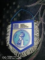 GÖRÖG labdarúgó szövetség szurkolói zászló