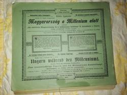 Magyarország a Millenium alatt 1896. évi kiadás