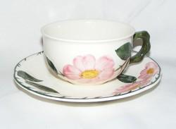 Villeroy & Boch Wild Rose csésze és alátét