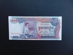 100 riel 1974 Kambodzsa UNC !