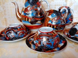 Keleti porcelán teás készlet (japán vagy kínai)