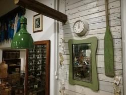 """Ipari mennyezeti lámpa, """"tulipán"""" ipari lámpa, zománc lámpa, loft lámpa"""