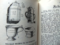 Antik német nyelvű füzetecskék / 10 példányszám
