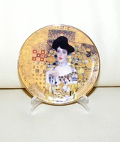 Gustav Klimt porcelán kistányér