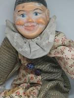 Vintage bohóc harlequin