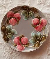 Majolika tányér