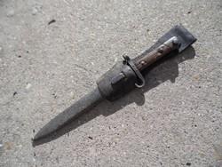 Háborús Manlicher M95 bajonet papuccsal