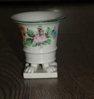 Szép Herendi tertia kis váza porcelán