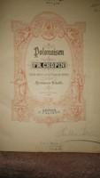 Frédéric Chopin: Polonaisen kotta 100 oldal. szép állapotú.