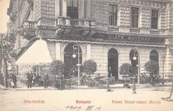 ULITS kávéház BP. 1909