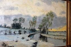 Slosár Károly eredeti festménye 540