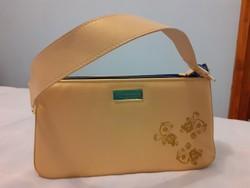 Celine Dion arany színű  alkalmi táska (parfüm táska)