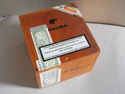 Cohiba fából készült szivaros doboz