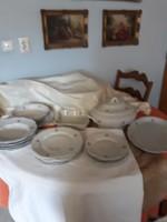 Zsolnay   6  személyes    étkészlet  22000  ft