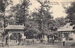 Jánoshegy Nagyvendéglő BP. 1923