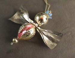 Angyalka karácsonyfa dísz