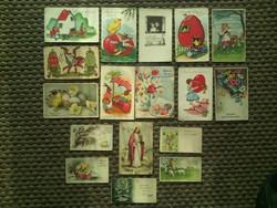 Húsvéti képeslapok az 1930-40es évekből
