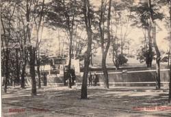 BP. Városliget Mulató bódék (Wurstli)  1912