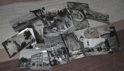 Képeslap képes levelezőlap Pécs postatiszta 60-as évek