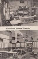 SCHWETZ ISTVÁN sörháza a PISZKOSHOZ  BP. 1925