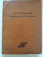 DT-75 Traktor kézikönyv 1967.es kiadás