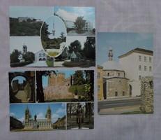 Régi képeslap 5.: Pécs (Magyarország)