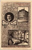 GAMBRINUS BP. Oláh Gyárás Mihály 1912