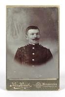 0Y403 Antik Herz Henrik fotográfia katona fotó