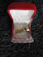 Folyami arany rögök, pelyhek 3.1 gramm, díszdobozban.
