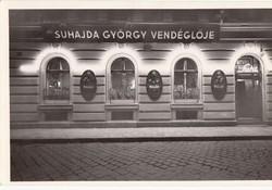 Ifj SUHAJDA GYÖRGY vendéglője és éttermei BP. kb1940