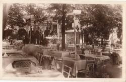 Ketter étterem kerthelysége 1937