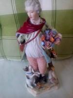 Altwien antik porcelán szobor