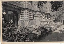 Ipszilon Kávéház BP. Fischer Jenő 1930