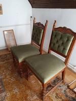 Kolonial székek 1 Ft-ról
