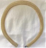 14 k arany nyakék 49 gr
