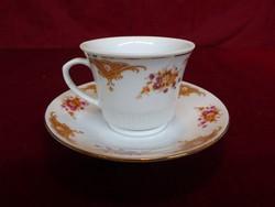 Keleti porcelán kávéscsésze + alátét, eddig vitrinben állt.