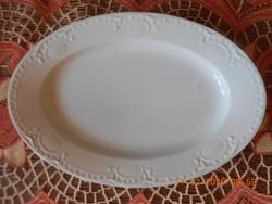 Antik MZ porcelán gyöngyös tál