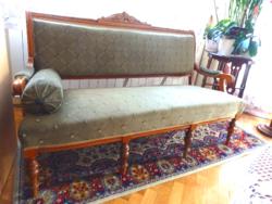 3 személyes   szecessziós kanapé