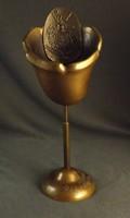 Régi bronz kupa ,kehely