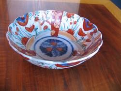 Antik japán porcelán tál (19. század második fele)