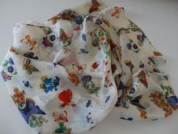 Finom valódi selyem sál ezernyi pillangó mintával, 100% selyem