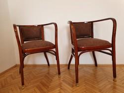 Thonet karfás szék párban.