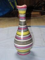 Mázas  váza  /padló váza/