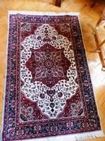Bordó velúr szőnyeg 130x200 cm