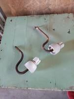 2 db régi elektromos szigetelés