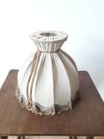 Régi zsinóros lámpabúra - retro textil lámpa búra