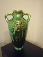 Zsolnay Eozin Géniusz váza / Poszeidon váza