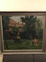 Bertalan Albert eredeti festménye!!