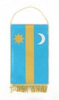 0Z165 Kisméretű erdély zászló 12 x 19 cm