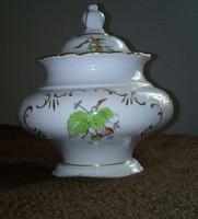 Herendi csipkebogyó mintás barokk bonbonier